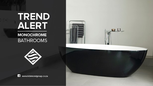 Monochrome – The Beauty Of Black And White Bathrooms