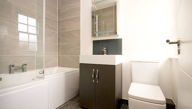 Looking For Small Bathroom Design Ideas? Think Big!