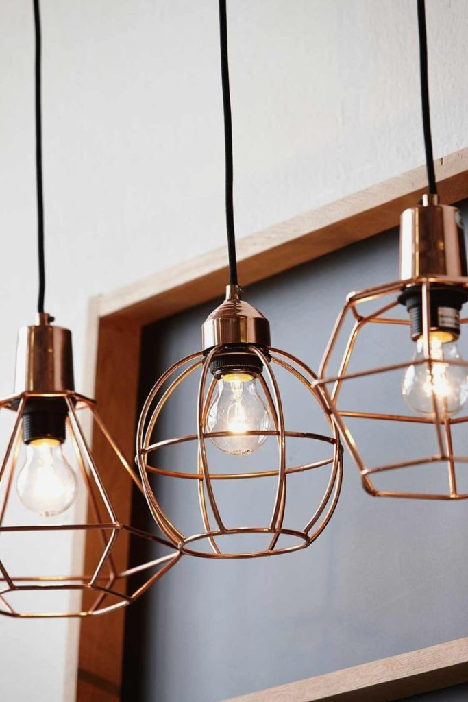 decorating with copper