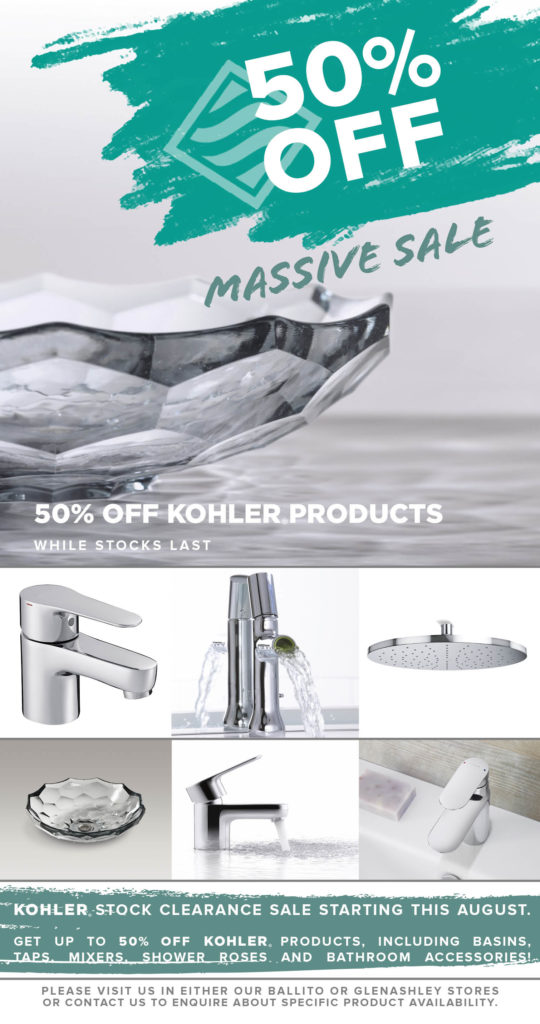 Richmond Group Plumbing and Sanware August Specials Kohler Products