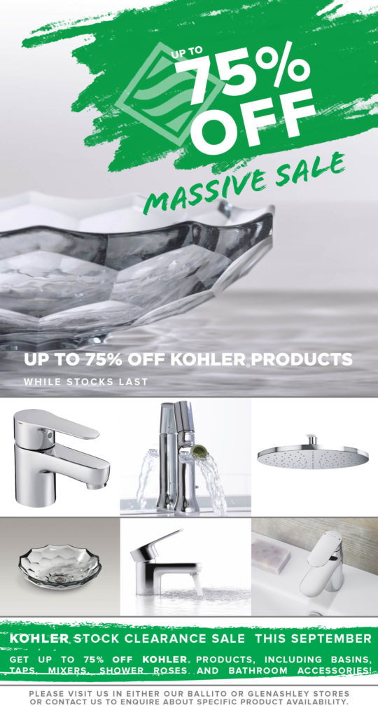 Richmond Plumbing and Sanware KOHLER clearance sale