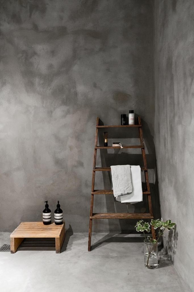 concrete bathrooms