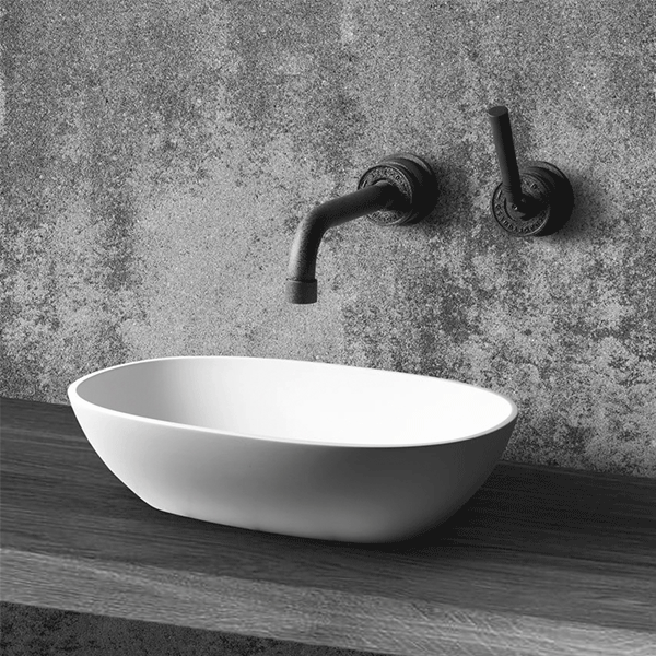 freestanding bathroom basin