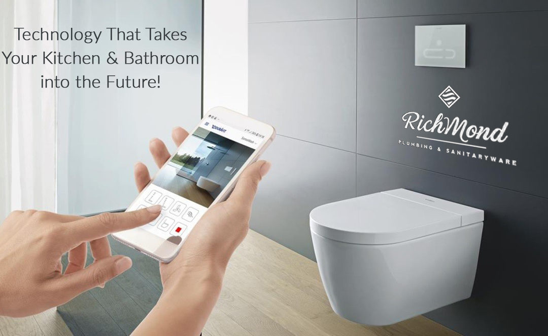 Technology That Takes Your Kitchen & Bathroom into the Future!