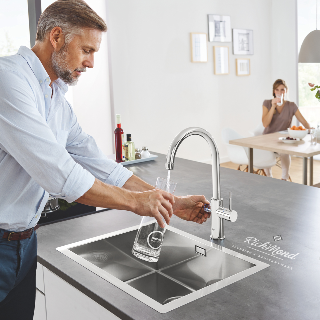 An Eco-Friendly Solution: GROHE BLUE helps say goodbye to plastic bottles