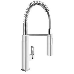 "GROHE EUROCUBE SINGLE-LEVER SINK MIXER 1/2"", CHROME"