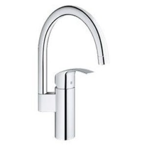 "GROHE EUROSMART SINGLE-LEVER SINK MIXER 1/2"", CHROME"