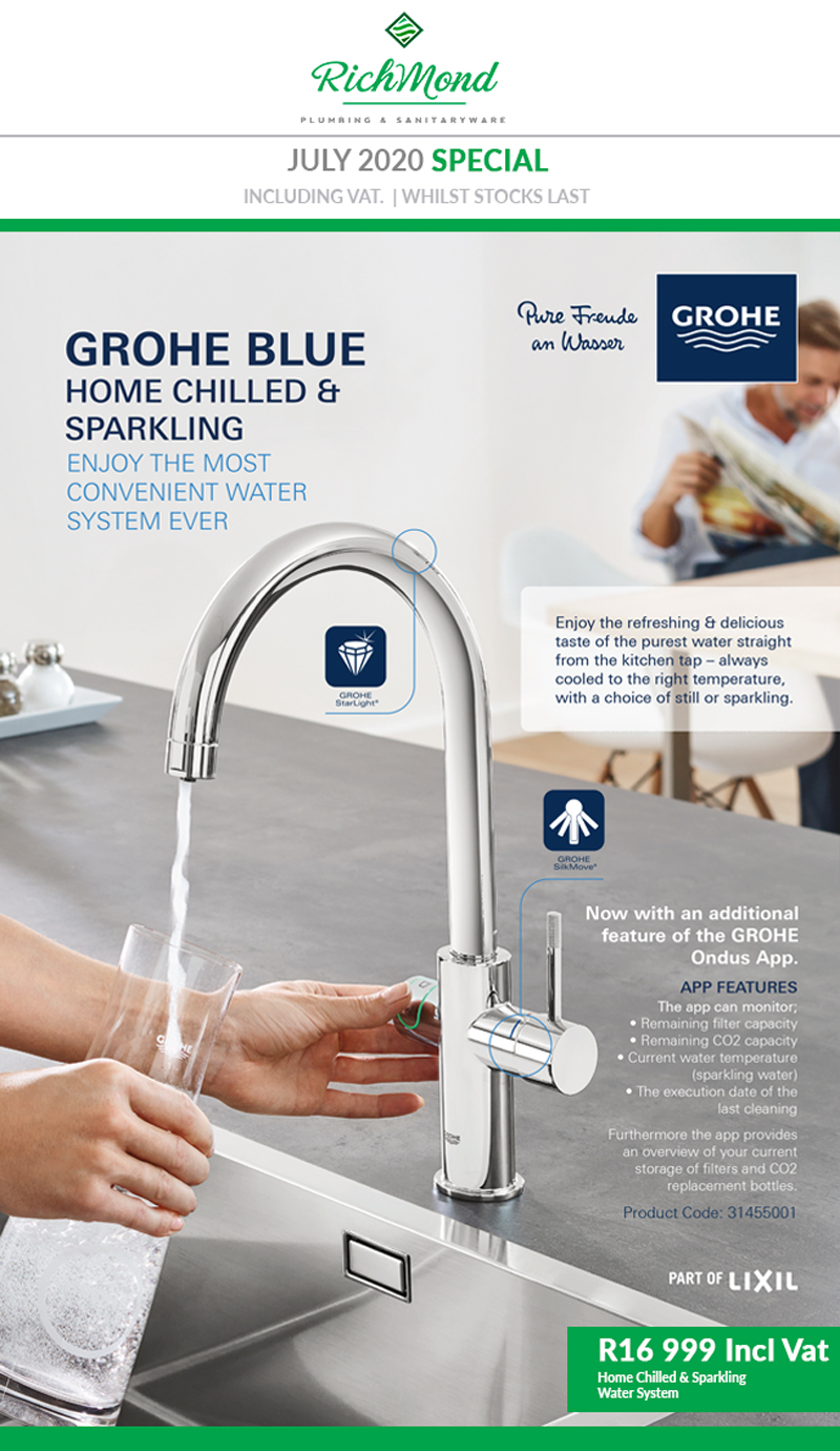 INTRODUCING GROHE BLUE HOME