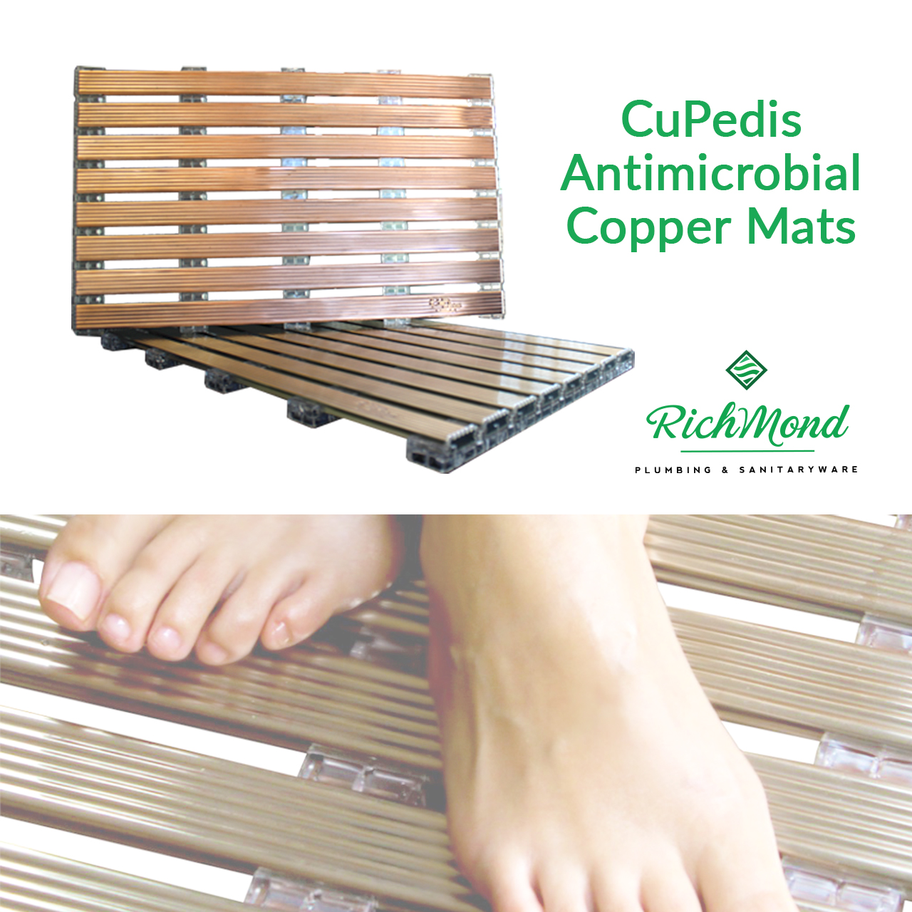 Antimicrobial-Copper-Mats