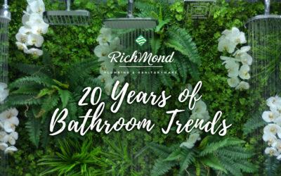 20 Years of Bathroom Trends